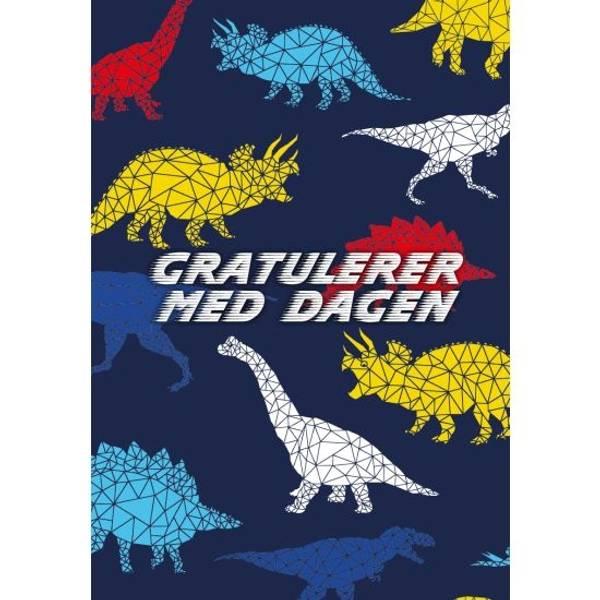 Bilde av Mini kort - dinosaur bursdagskort