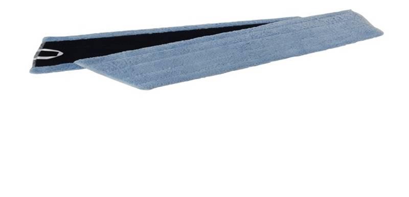 Mikrofiber tørr/feiemopp med borrelås:40 cm