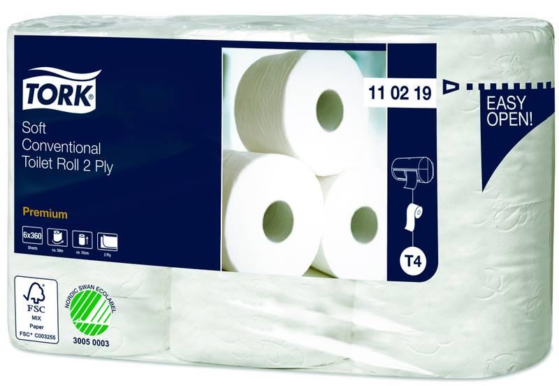 Toalettpapir Premium – 2-lags