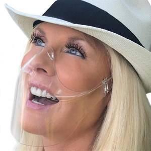 Bilde av Ansiktsmaske gjennomsiktig