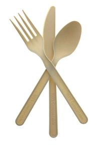 Bilde av Singel pakket kniv, skje og gaffel
