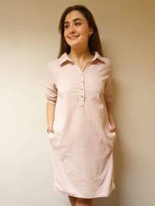 Bilde av babycord kjole 9147