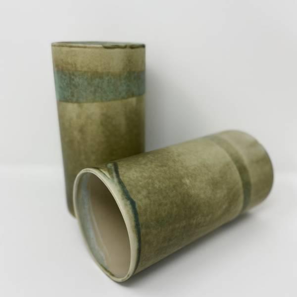 Keramikkvase Mose