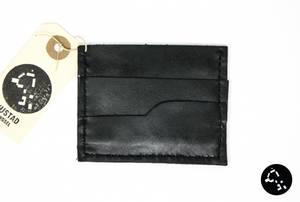 Bilde av Kortholder i sort skinn