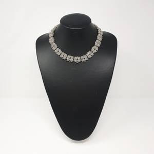 Bilde av Rosett sølvsmykke