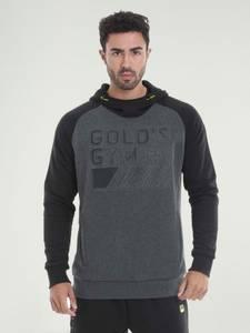 Bilde av Gold's Gym Embossed Logo Hoodie