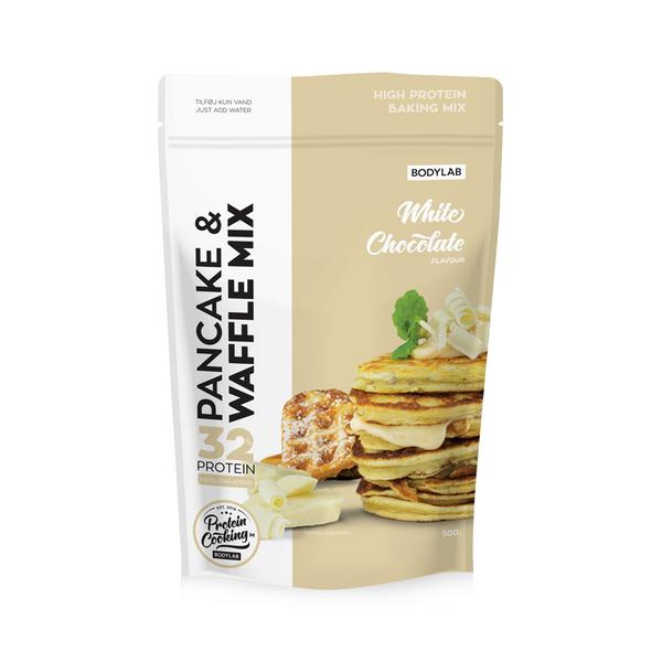 Bodylab Pancake & Waffle Mix 500g - White Chocolate