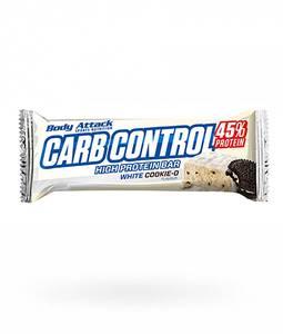 Bilde av Body Attack Carb Control Protein Bar 100g, White