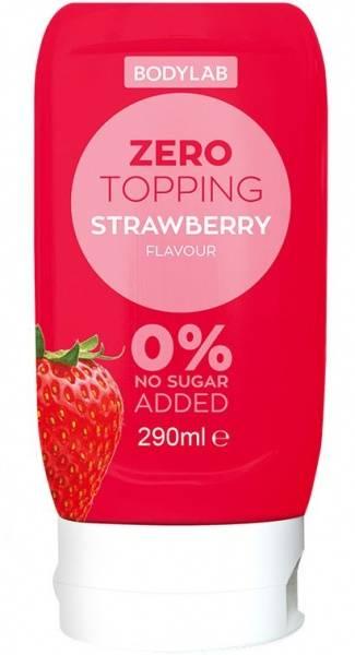 Bodylab Zero Topping 290ml, Strawberry