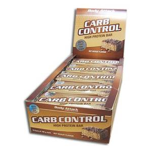 Bilde av Bodu Attack Carb Control Protein Bar 100g, Nut