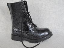 Boots svartmønstret