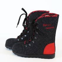 Røroslabben sko rød