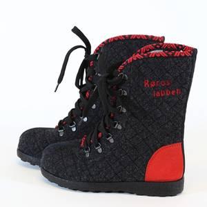 Bilde av Røroslabben sko rød
