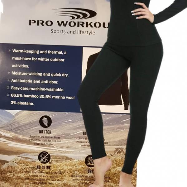 Bilde av dame outdoor climate superFLX 200 gram merino bukse