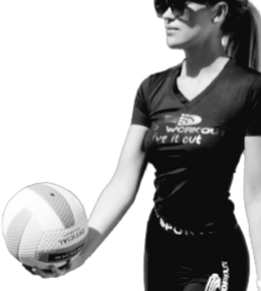 dame naturall V-hals superFLX kort treningsskjorte - all sports