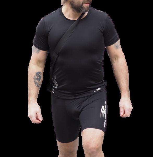 naturall rundhals superFLX kort treningsskjorte - all sports