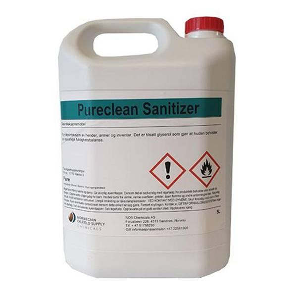 Bilde av Håndsprit 5 liter Pureclean Sanitizer