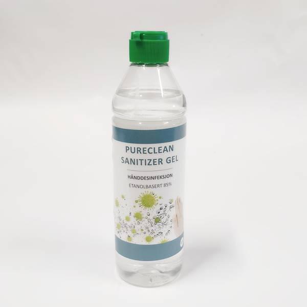 Bilde av Håndsprit 0,5 liter Pureclean Sanitizer Gel