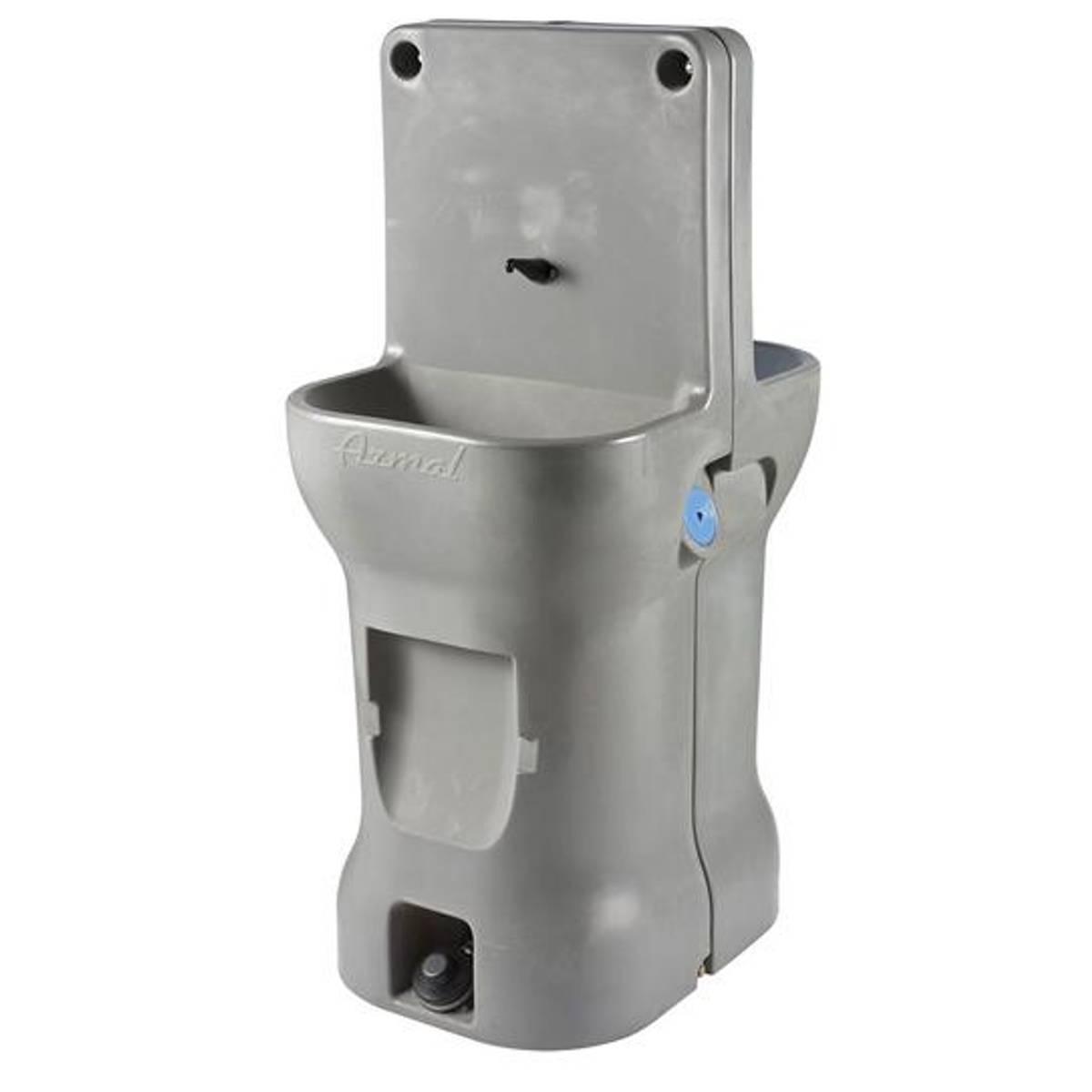 Mobil håndvask med fotpumpe