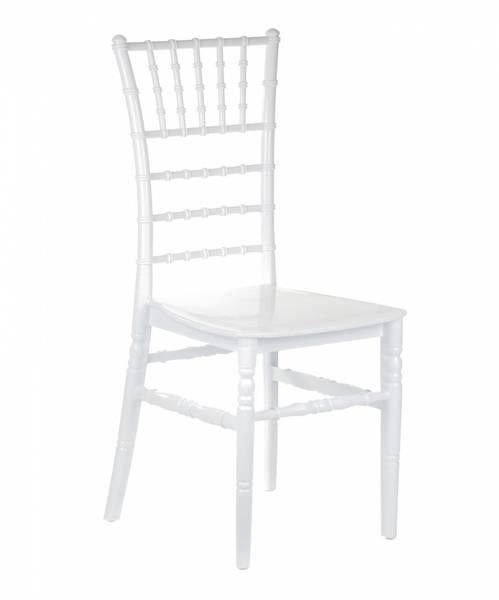 Bilde av Hvit chiavari stol