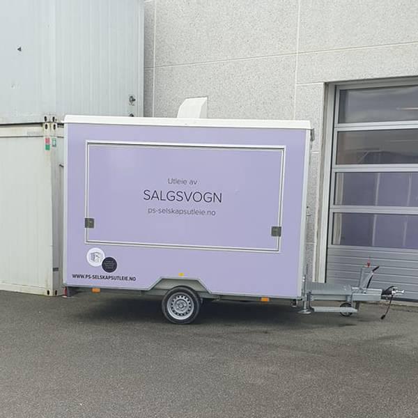 Bilde av Salgsvogn med håndvask