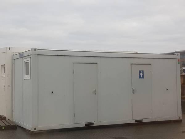 Bilde av Toalett Container med 2 pissoare 4 toalett