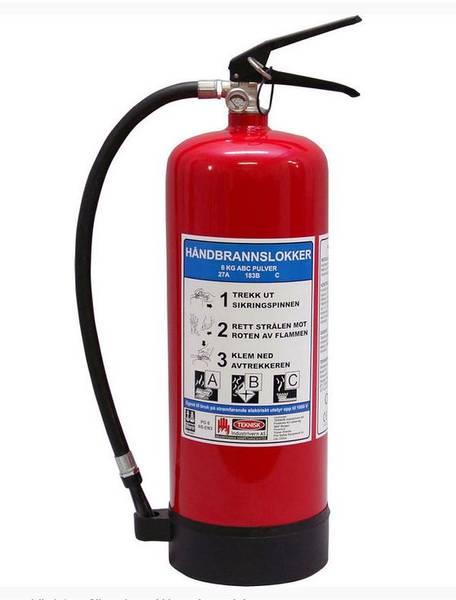 Bilde av Brannslukningsapparat