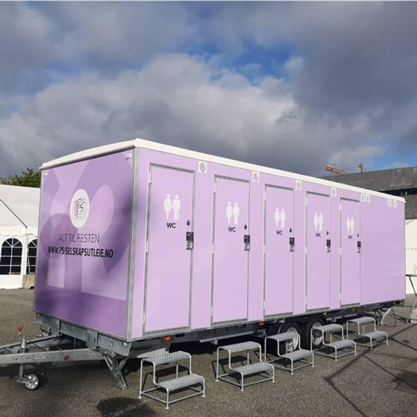 Bilde av Toalettvogn PS 2019 med 10 toaletter og 6