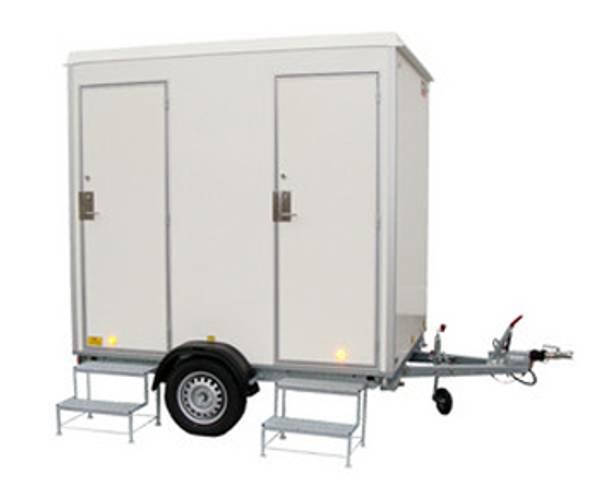 Bilde av Toalettvogn med 2 toaletter, uten vann og avløp