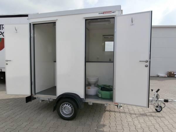 Bilde av Toalettvogn med 2 toalett og 1 pissoare