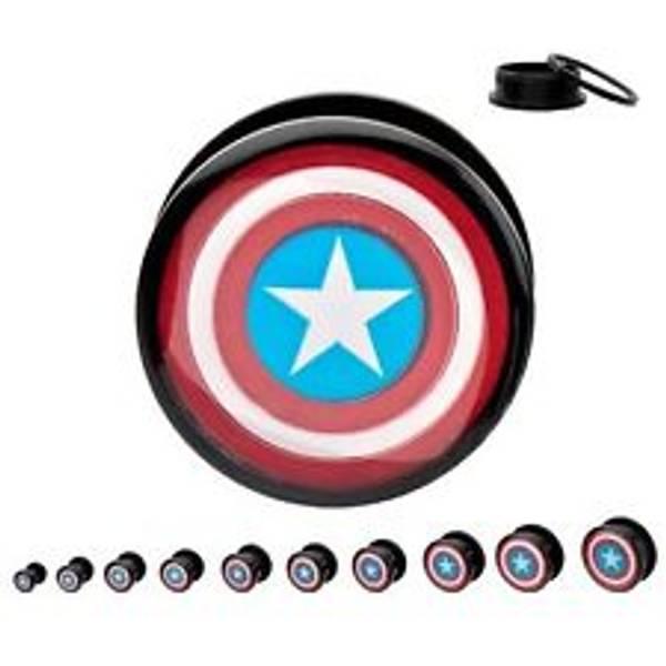 Bilde av Captain America Plugs