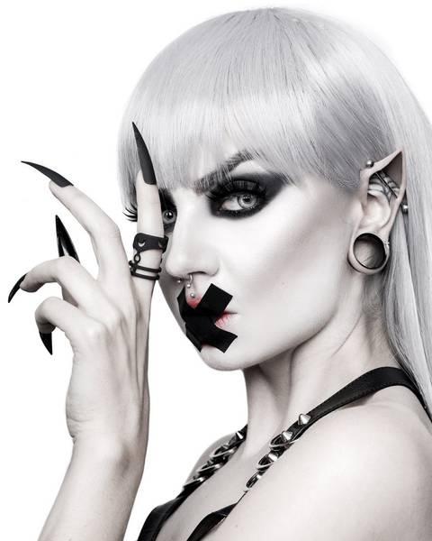 Bilde av Harness Ring in Black rogue +