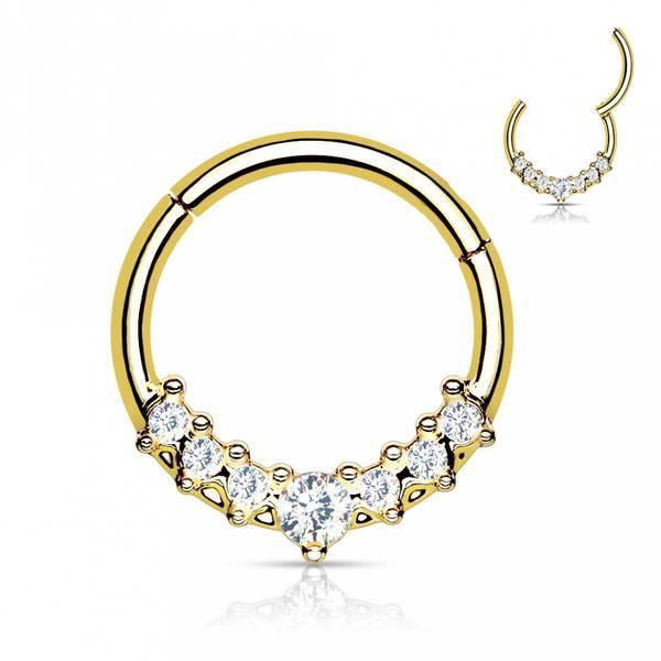 Bilde av Liza hinged ring gold