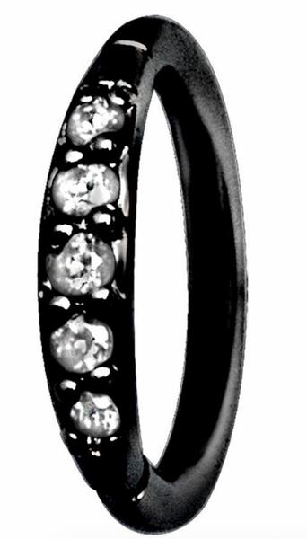 Bilde av Fiona hinged ring black