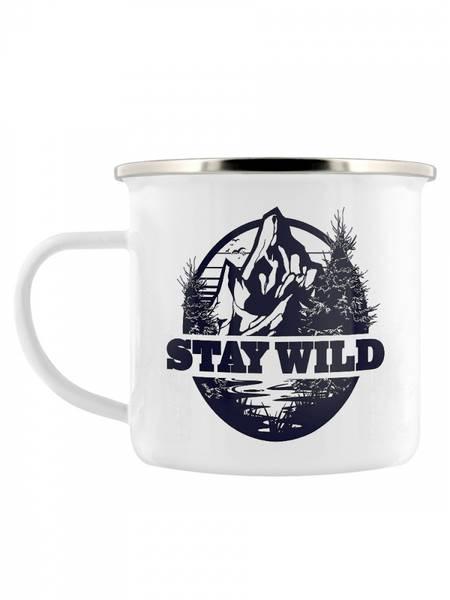 Bilde av The Great Outdoors Enamel Mug