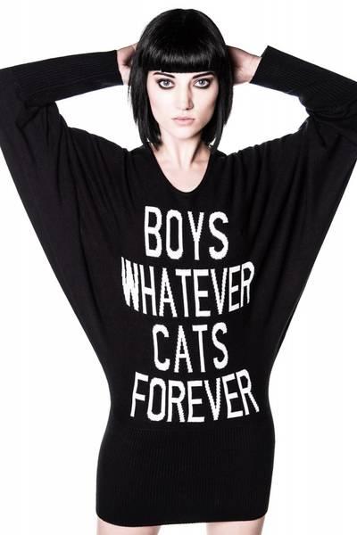 Bilde av Boys/Cats Knit Dress