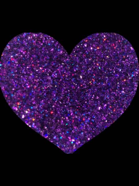 Bilde av Pressed Glitter Purple Rain