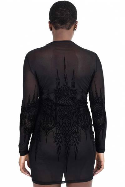 Bilde av Unholy Matrimony Mesh Dress