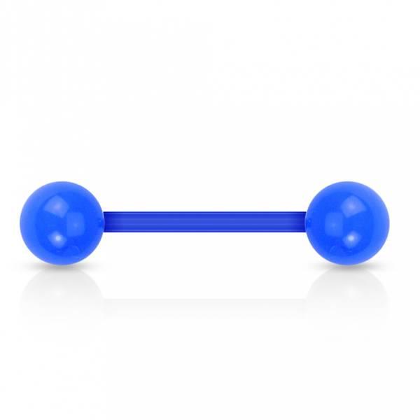 Bilde av Acrylic barbell Blue