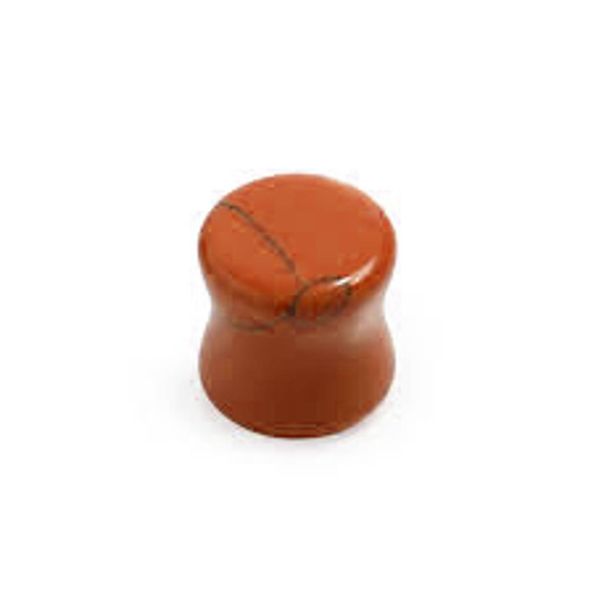 Stone Plugg Flare Orange 6mm