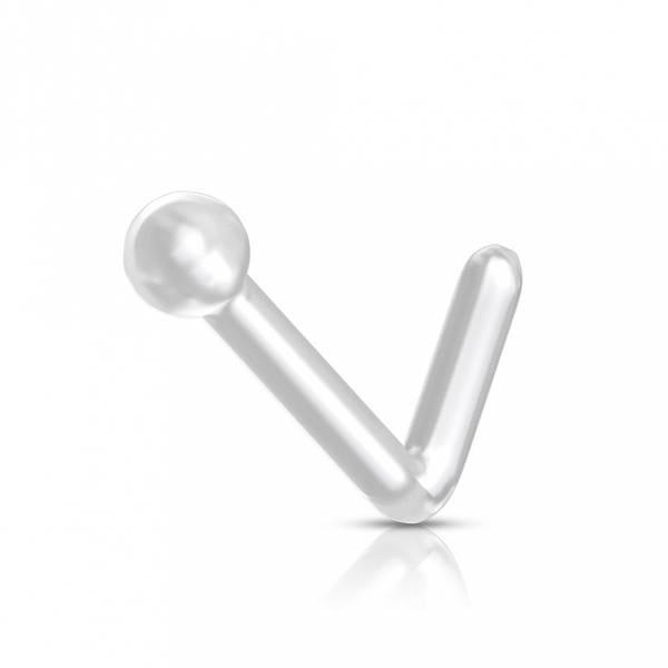 Bilde av Flexible Clear L Bend Nose