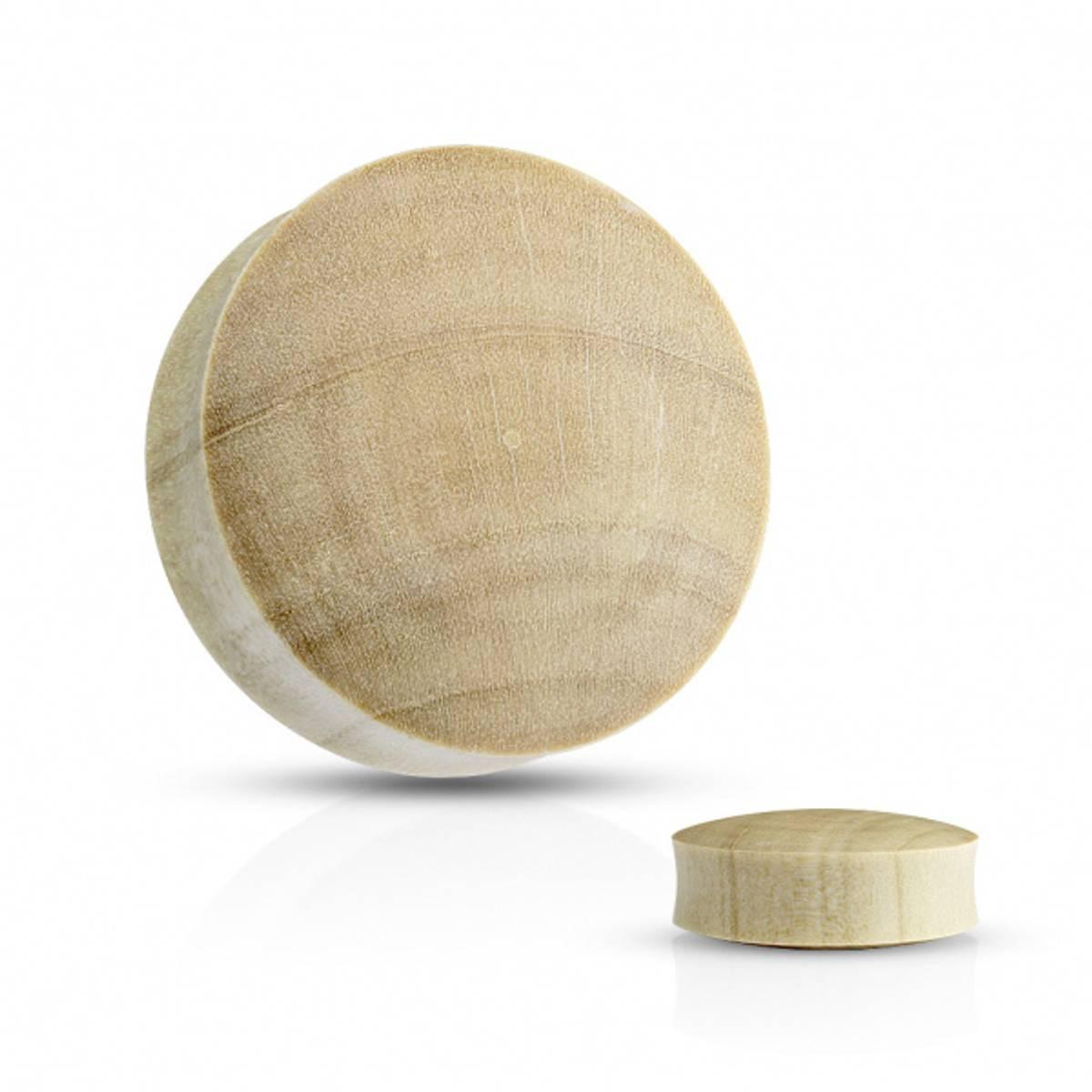Convex Saddle Fit Crocodile Wood Organic plugg
