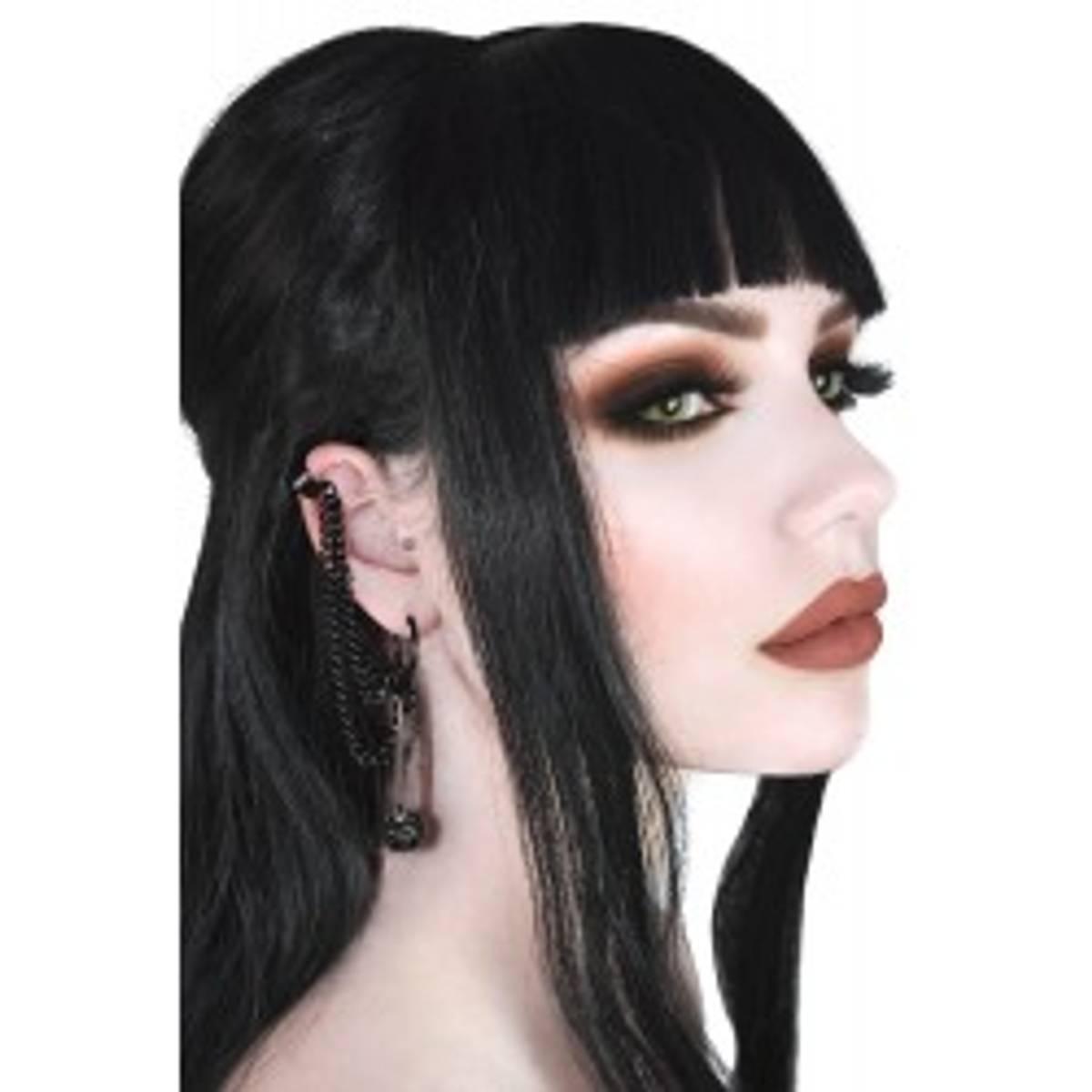 Noir Earrings Black
