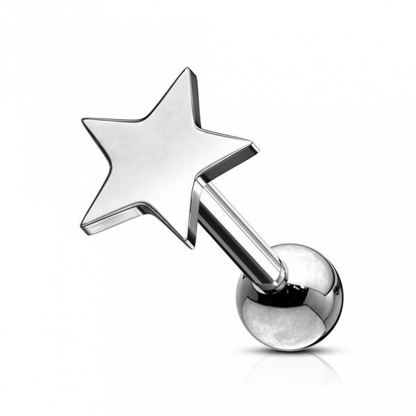 Bilde av 1,2mm Flat Star Barbell