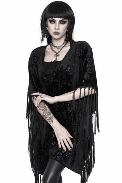 Bilde av Fang Velvet Kimono