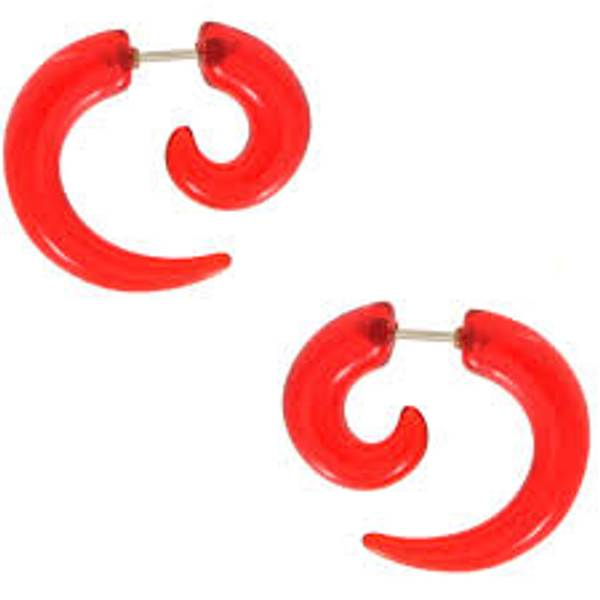 Bilde av Fake spiral candy red