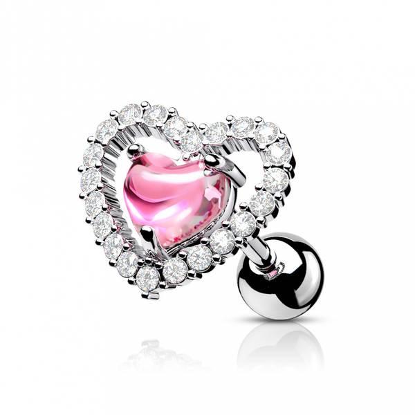 Bilde av Heart Pink Barbell