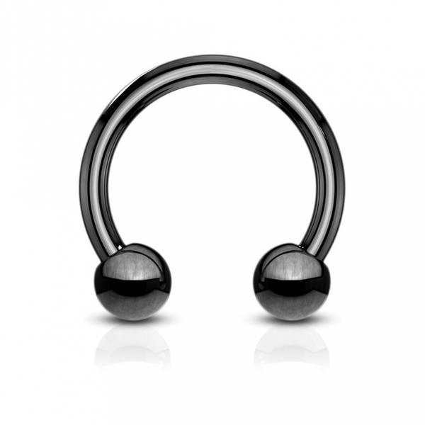 Bilde av Black circular barbell