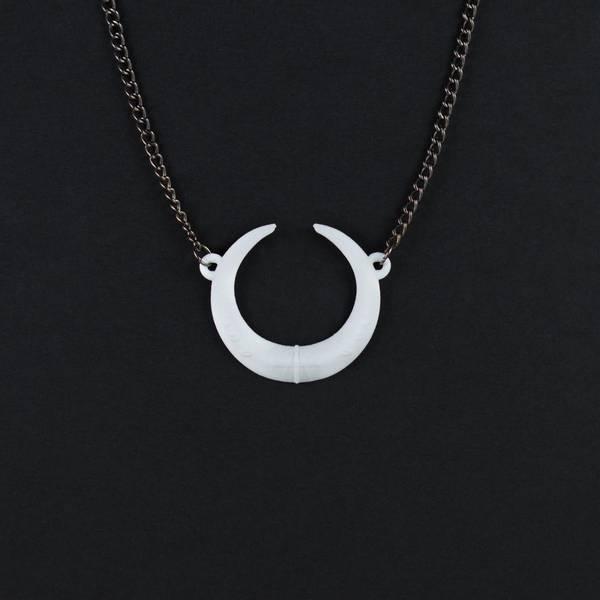 Bilde av Eclipse necklace white