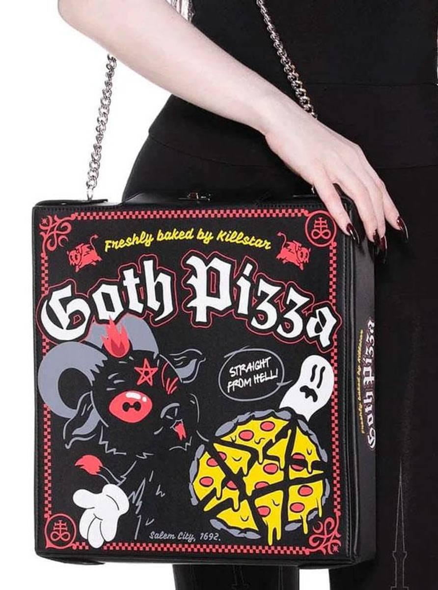 Goth Pizza Handbag